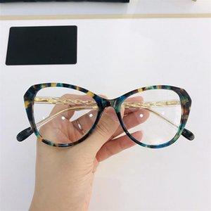 Caso Nuevas gafas súper bonitas Mariposa / Pequeña Cateye Fullrim CH8047 Frame Frame 54-17-145 For Prescription Crystal 2020 Gafas Full Fullset Ivas
