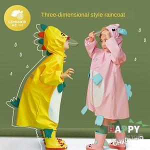 Cabo estudante gear gear infância chuva bebê capa de chuva capa criança terno dinossauro poncho infantil capa de chuva menina do menino
