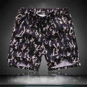 Beach Fashion Stylist DesignerMens Mens estate pantaloni da uomo Donne camuffamento della stampa del bicchierino Pants19SS