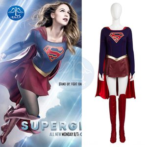 YK4aU All over the sky flash super girl Superman cosplayclothes All over Play service play service the sky flash super girl Superman cosplay