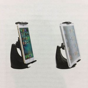 Universal Tablet Car Mounts Holders 360° Rotating Mobile Phone Desktop Brackets Telescopic Retractable Retail Package