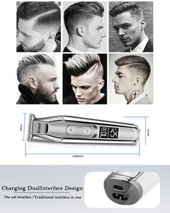 Kemei Km 5027 Rasoirs pour hommes cheveux barbe rechargeable Barber Maquina De barbear Kemei Km 5027 rDUiq xhhair