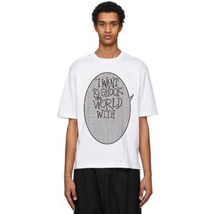 20SS Sommer klassischen Buchstabe Strick Weave T Männer Frauen Paar High Street einfaches T-Shirt atmungsaktiv Urlaub Short Sleeve Außen HFYMTX947