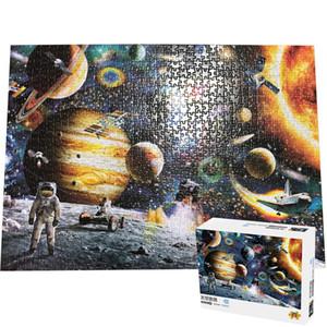 اللغز 1000 قطعة للبالغين الفضاء رحلة 1000 PCS Puzle الدماغ Pazzle لعبة الألغاز CX200711