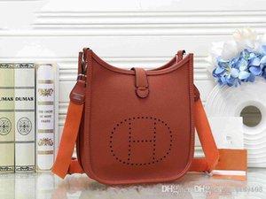 Designer Hermes bolsas Cruz do corpo Bolsas Lady bolsa de couro Mulher ombro saco de mão de embreagem Mensageiro Almoço Totes saco Lady Handle