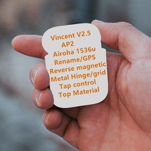 H1 무선 Bluetoot 헤드폰 AP2, AP3 프로 H1 칩 이름 바꾸기 GPS TWS는 W1 2 세대 이어 버드 이어폰 헤드셋을 충전 무선 이어폰