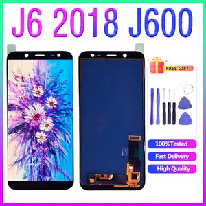 For Samsung Galaxy J6 2018 J600 J600F LCD Display with Touch Screen Digitizer Assembly Glass Panel