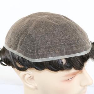 الرجال شعر مستعار ابيض عقدة كل رئيس السويسري الرباط الإنسان الشعر المستعار للرجال استبدال أنظمة ريمي الشعر كامل الرباط رجال الشعر المستعار