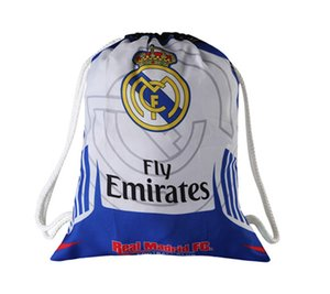 2020 2021 REAL madrid Bunch of pocket football fans supplies bags soccer jersey set bags Stuff Sacks bag Soccer Shoes Drawstr free shipping