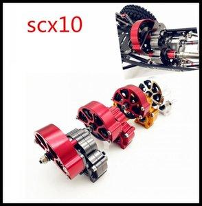 RC oruga SCX10 toda la transmisión de Metal caja de cambios central para 1 10 Axial SCX10 piezas de marcha atrás
