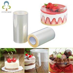 1 torta roll trasparente collare Mousse circostante bordo Cucina Torta al cioccolato Candy cottura Surround Film Fodera Anelli Stampi ZXH