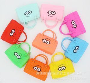 Women's fashion s hand silicone hand new silicone coin purse coin bag mini bag