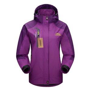Lixada Kadınlar Yürüyüş ceketler Yeni Suya Ceket Windproof Yağmurluk Spor Açık Yürüyüşü Bisiklet Sporları Coat Seyahat