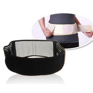 Magnetic Self-Heating Lower Back Lumbar Waist Pad Belt Support Protector Promote Blood Circulation Ease Pain Fitness