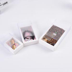 Solide Multi Purpose Trinket Organisateur Kraft Paper Box Pvc Boîtes tiroirs Savon Conteneurs Rouge à lèvres boucle d'oreille Collier 1 3SZ D2