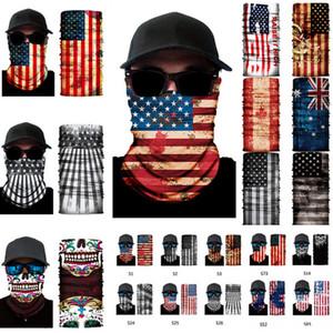 Открытая Бесшовная Магия шарф маска шарф Велоспорт езда маски мульти-функция шейных Открытой маска для лица 300pcs T1I2195