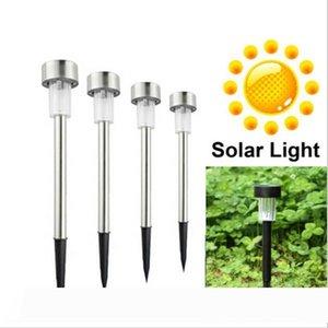 New LED Solar Lights Sun Lawn Light Stainless Garden Outdoor Sun Light Corridor Lamp Outdoor Garden Lamp Solar Powered Colored Solar Lamps