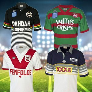 Retro Jersey Rugby Jersey 1979 ST GEORGE 1991 Penrith Panthers 1989 Sul Sydney Rabbitohs 1995 North Queensland Cowboys NRL League S-5XL