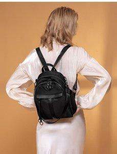 CHISPAULO Couleur Noir Mesdames Sac à dos Oxford multifonctions Voyage Sac 2020 Sac à dos New Style Fashion