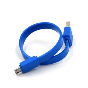 De carga rápida de 20 cm micro USB cuerda de carga del cable para Samsung Android para todos los teléfonos inteligentes