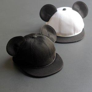 Summer New Cute Panda Ears Kids Hat Boy Girl Baseball Cap Baby Sun Hat Boys Hip-Hop Caps