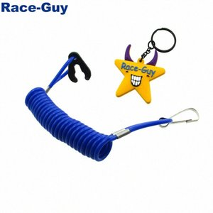 Caja azul Tether cuerda de seguridad para cable de Kill Switch Moto de agua de esquí Raptor Banshee Blaster ATV 1aLO #