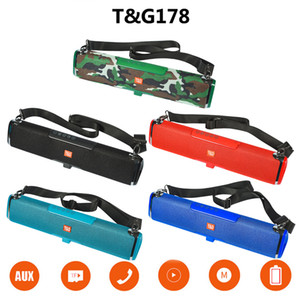 TG178 Soundbar tragbare Bluetooth-Lautsprecher Solarstromladesäule Music Center Stereo-Subwoofer-Boom-Box mit FM Radio TF AUX usb