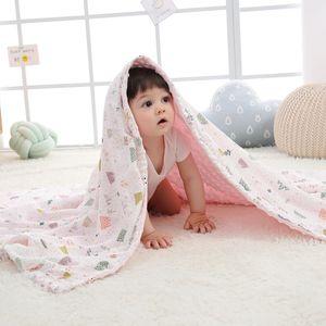 Baby Blanket Comfort Spring and Autumn Small Blanket Baby Kindergarten Peas Blanket Four Seasons Air Conditioning Quilt Children Quilt Blank