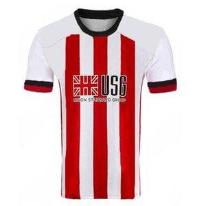 كيت الرجال الاطفال 20 21 شيفيلد لكرة القدم الفانيلة بيرج MOUSSET المتحدة 2020 2021 McBURNIE LUNDSTRAM FLECK كرة القدم قميص NORWOOD SHARP جيرسي