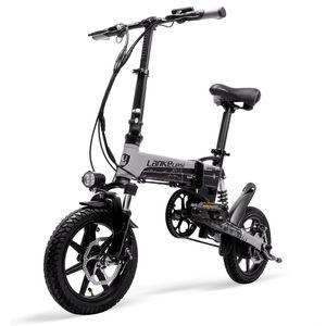 G100 LANKELEISI G100 Mini Folding bicicleta elétrica ciclo elétrica