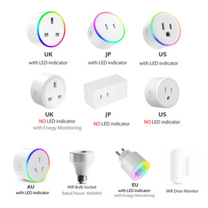 Smart Plug WiFi Mini Socket Smart Outlet, Work with Alexa and Google Home, No Hub Required, Remote Control your Devices