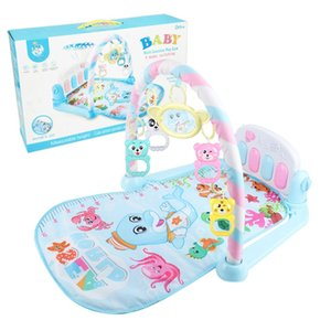 Baby Play Mats Fitness Rack Baby Pedal Piano Newborn Music Early Education Educational Toys Safe And Secure Baby Activity Gym