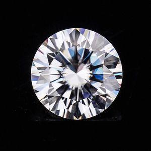 Provence jewelry 1carat 6.5mm clarity VVS1 VVS2 color D Round Brilliant Cut Moissanite 9qEk#