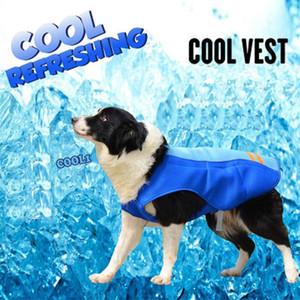 Summer Pet refroidissement Harnais chien Gilet respirant réglable manteau de veste de Rafraîchissant pour l'extérieur Marcher Cool Pets Fournitures Vêtements