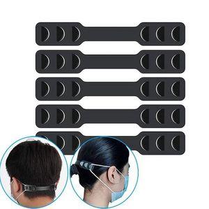 Face Mask Band Attendeurs Masque Ajusteur de sangle élastique Protégez votre oreille Break Away Douleur Masque Crochet Crochet Réglable Ear Strap Extension EEA1781