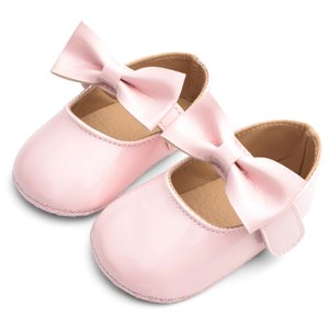 2019 New Baby Girls First Step Shoes Baby Moccasins Soft Bottom Non-slip Toddler First Walkers Baby Booties Girls Shoes #C