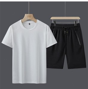 mens designer tracksuits summer sweatsuit 2020 luxury designer clothes jiuidff Short Sleeves Pullover With Casual Jogger Pants Suits Homme