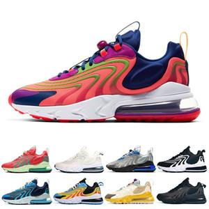 mulheres homens moda reagir eng tênis Laser carmesim do Oracle do Aqua Núcleo preto mens confortáveis mulheres formadores Outdoor Sports Sneaker 36-45