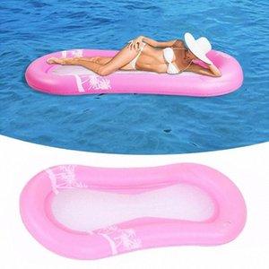 Erwachsene komfortabel 0.2MM Plastikfrucht Pool treiben Stuhl-aufblasbares Pool Float Beach Lounge Schwebebett Sommer Kinder Z8is #