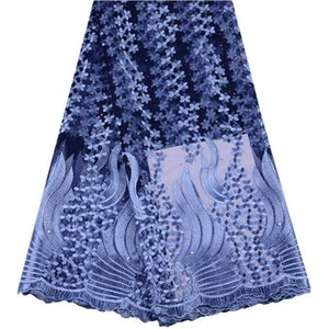 Latest Nigerian Laces Fabrics With Stones High Quality Tulle African Laces Fabric Wedding African French Tulle Lace Y1470