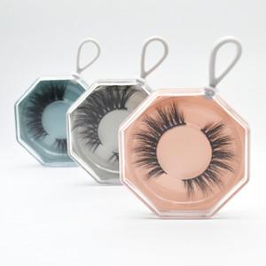 케이스 속눈썹 상자 래쉬 스토리지 컨테이너 박스 비우기 포장 상자 3D 밍크 속눈썹 박스 속눈썹 포장 휴대용 열쇠 고리 속눈썹