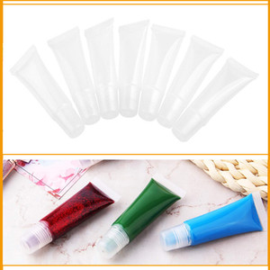 empty lip gloss tubes clear lip gloss tube refillable empty tubes clear lip gloss cosmetic containers squeeze dspensing bottle