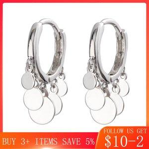 CodeMonkey Hot Sale Disc Tassel Hoop Earrings For Women Making Fashion Jewelry Gift CME447