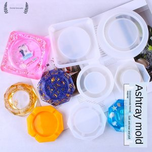 Applicable to lanjin diy ashtray dripping mould Handmade crystal Diy Crystal set handmade ashtray silicone dripping material