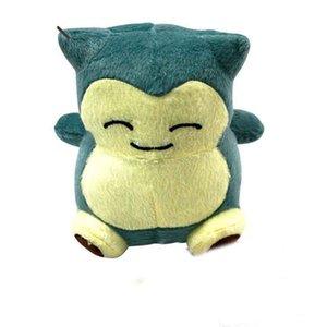 15cm (6inch)New Cute Pocket Monster Snorlax Stuffed Plush Doll Cartoon Animal Figure Xmas Toys Gifts HH-T12