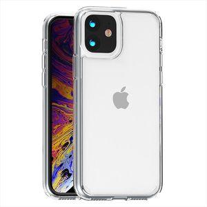 Caja protectora de TPU para el iPhone 11 Pro Max 11 XR XS Max 7 8 Plus 6 Plus 6S arriba claro transparente ultrafina Mobi