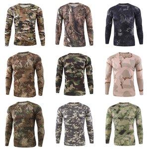 Mens Solid Color Summer Tshirts Streetwear Tshirts Hommes T-Shirts Long Sleeve Soft Tees Tops Man Clothing#538