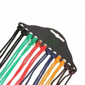 Gros-12pcs coloré Lunettes en nylon cordon de lecture en verre courroie de cou Porte-lunettes Cord Lunettes Bracelet Lunettes Accessoires E # CH dN1q #