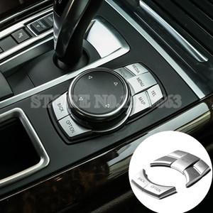 내부 콘솔 iDrive 한 멀티미디어 버튼 커버를 들어 BMW X3의 F25의 X4의 F26 2014년부터 2017년까지