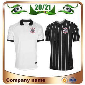 Nova 2020 Corinthian Paulista de Futebol Jersey 20/21 casa JADSON Futebol camisa do uniforme de futebol PABLO BALBUENA ROMERO 3 personalizado